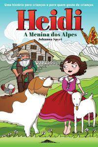Capa Heidi, A Menina dos Alpes